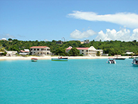 Anguilla beach home property