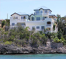 Anguilla beachfront house