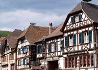 France medeival houses wood frames traditional properties villas real estate