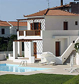 Greece Skopelos homes