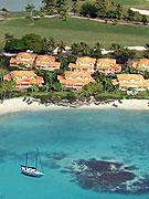Guadeloupe SAINT FRANCOIS beachfront houses