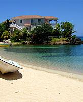 Honduras Roatan houses Half Moon Bay luxury 2 3 storey villas beachfront oceanview properties real estate for sale for rent