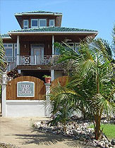 Honduras Utila villa for rent for sale