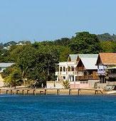 Honduras coast of Roatan