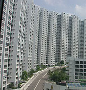 Hong kong kornhill private housing