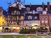 Latvia Riga row houses