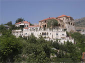 Lebanon hillside residential houses