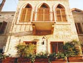Lebanon typical stone houses