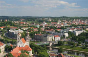 Lithuania houses in the city