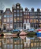 Netherlands Amsterdam houses