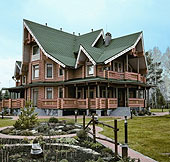 Russia Siberia Eclectic Style house