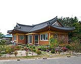 South Korea traditional houses