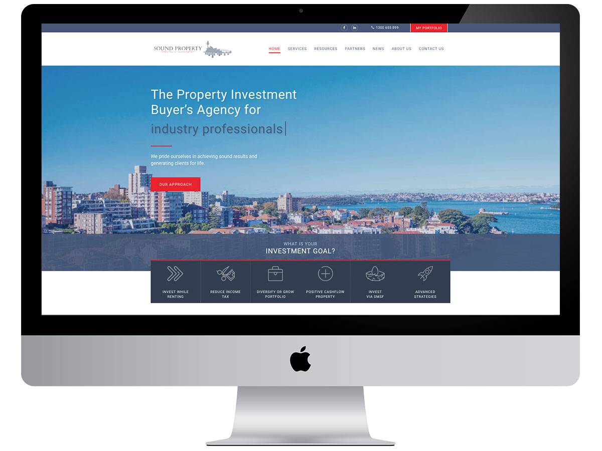 Sound Property Group banner