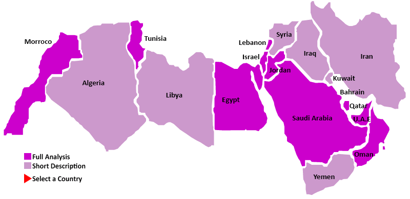 Middle-East map small