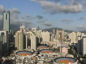 China property prices spike for 3rd month