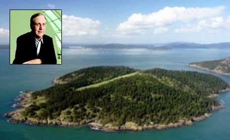 Microsoft co-founder Paul Allen sells private island for $13.5M
