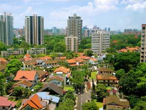 Suburban homes sell faster in Singapore