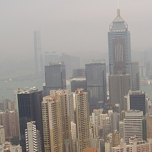 Hong Kong's house prices falling