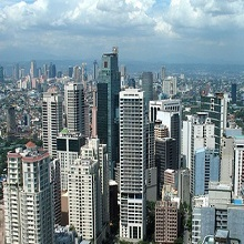 House prices are now falling in the Philippines